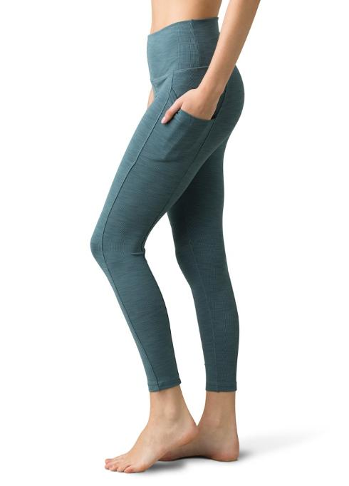 Prana Becksa 7/8th Ribbed Legging with Pocket