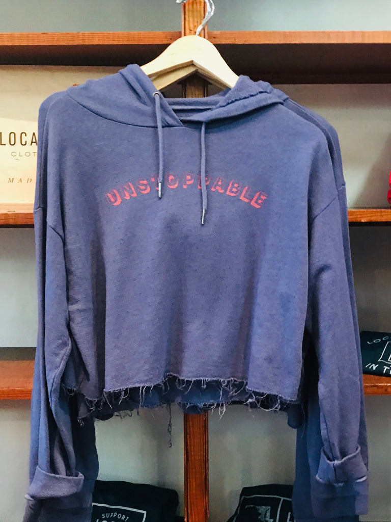 Unstoppable Crop Sweatshirt