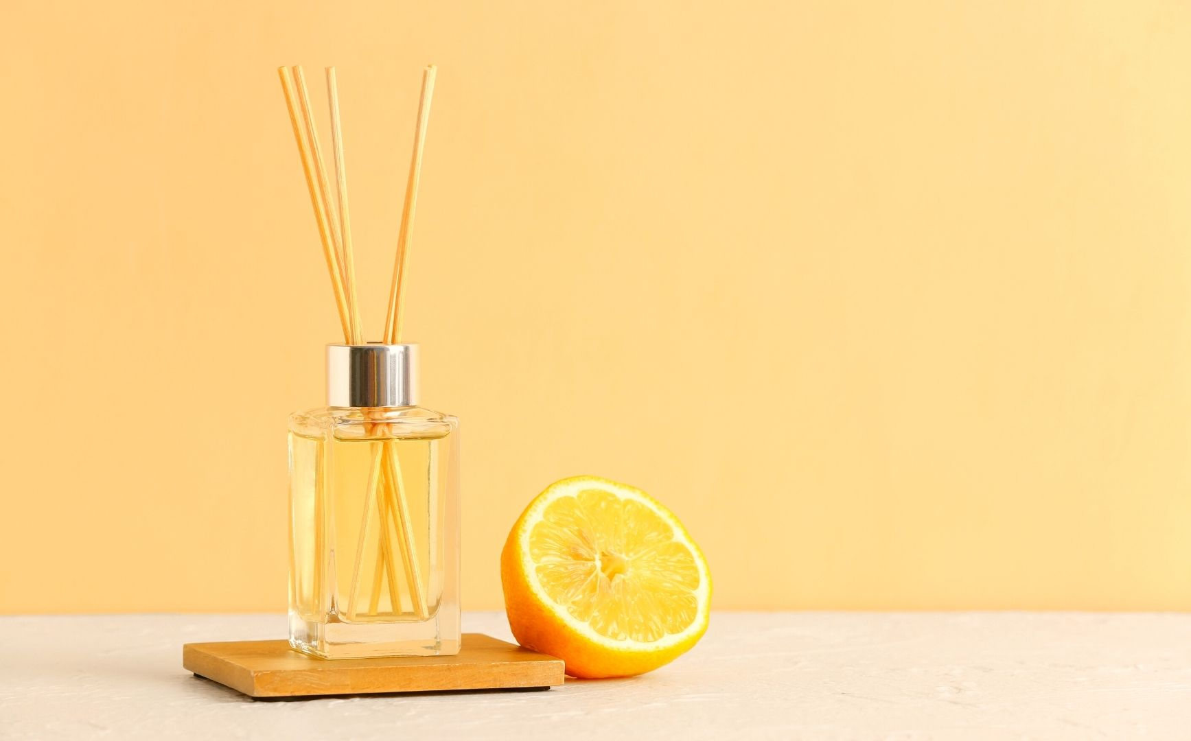 Citrus smell associated with lemons and yellow