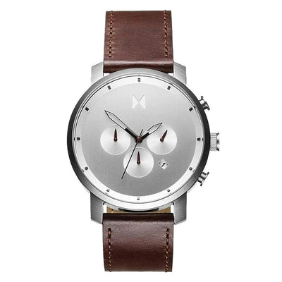 MVMT D-MC01-SBRL Chrono 45 Silver Brown Herrenuhr