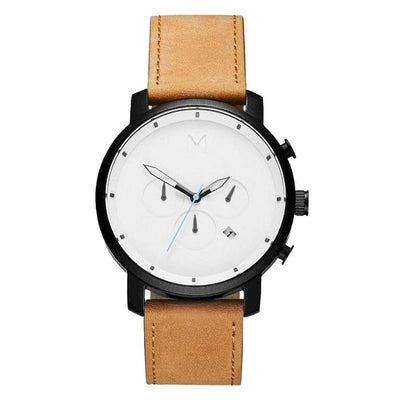 MVMT D-MC01-WBTL Chrono 45 White Black Tan Herrenuhr