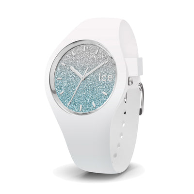 Ice-Watch IW013429 Ice Lo White Blue Medium Damen uhr