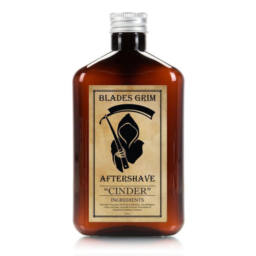 Cinder Aftershave - 8.45 oz - By The Blades Grim