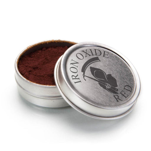 RED IRON OXIDE 1OZ .1 MICRON STROP POWDER