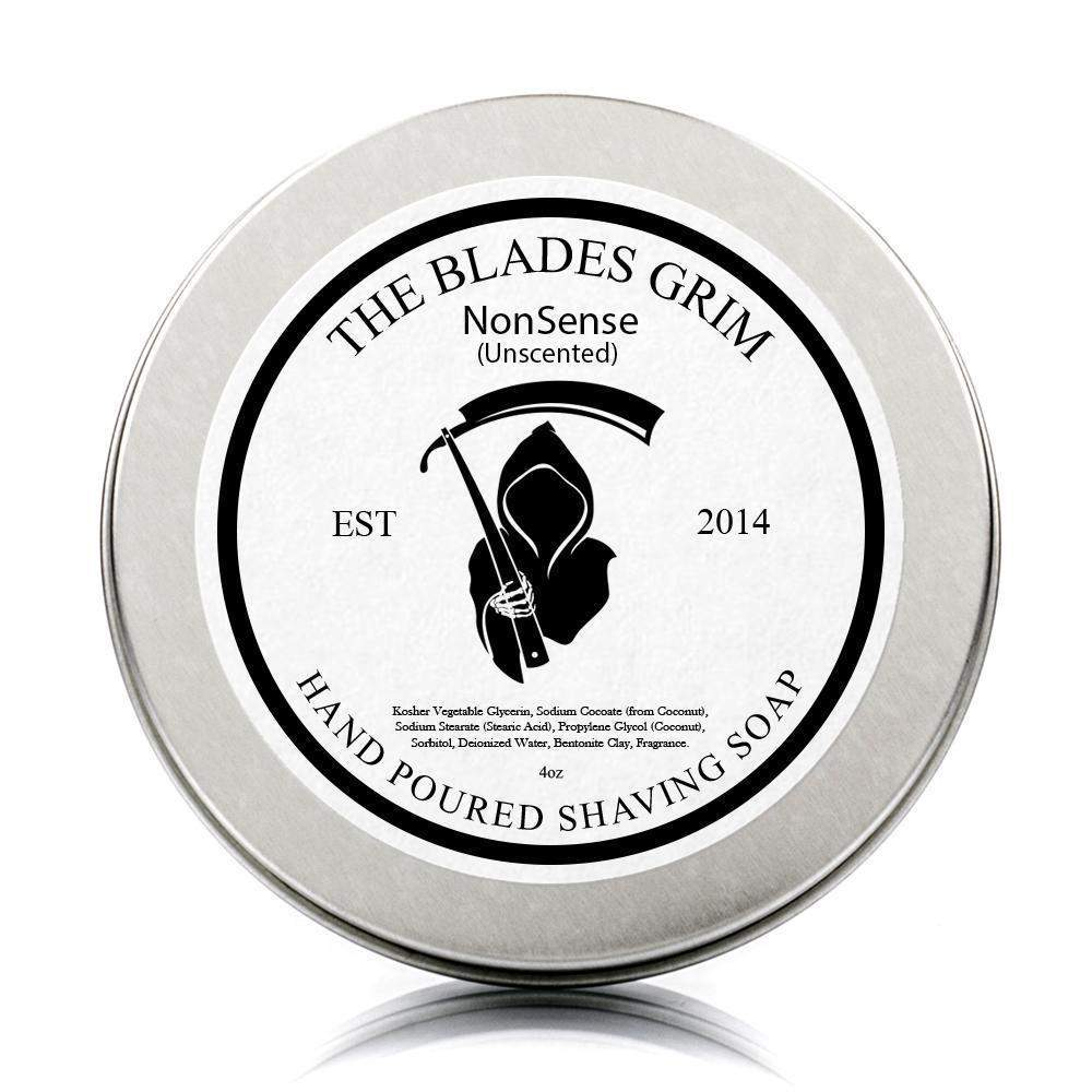 "NonSense - The Blades Grim 3"" Shave Soap-"