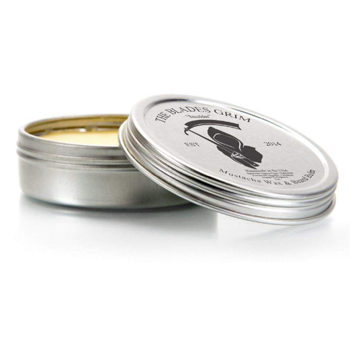 "The Blades Grim - Mustache Wax ""Cinder""-"