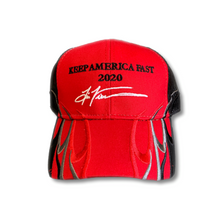 Load image into Gallery viewer, Keep America Fast Flames Trump 2020 Snapback Hat