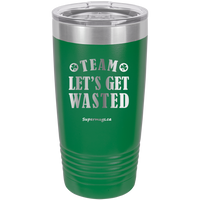 Team Let's Get Wasted Irish - Tumbler