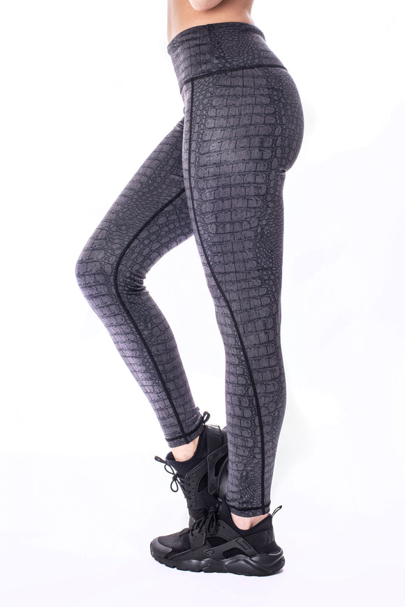 Croc Print Leggings
