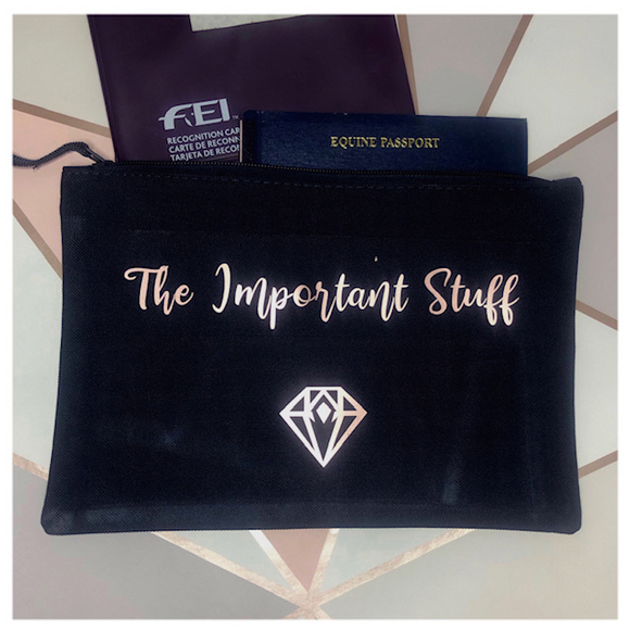 'The Important Stuff' Pouch