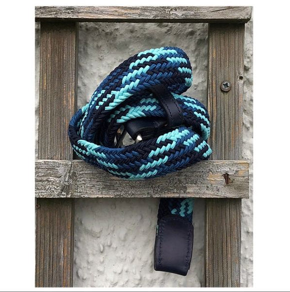 Braided Belt (Blue)