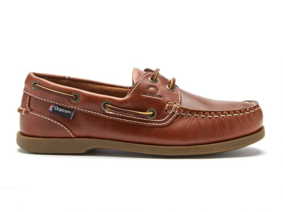 Chatham The Deck Lady II G2 Boat Shoes (Walnut)