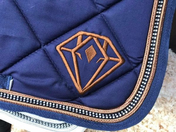 Superbling GP Saddle Pad (Navy)