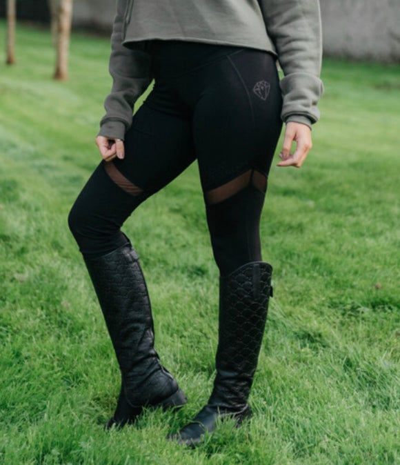 Glitter Airflow Leggings