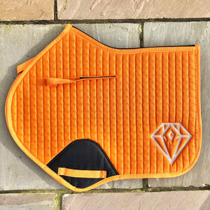 Signature CC Saddle Pad (Orange)