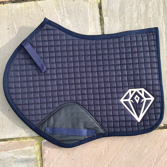 Signature CC Saddle Pad (Navy)