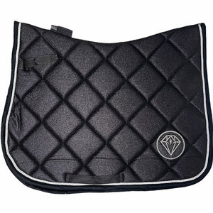 Glitter GP Saddle Pad (Black)