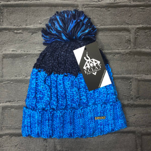 Pom Pom Hat (Bright Blue)