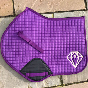 Signature CC Saddle Pad (Purple)