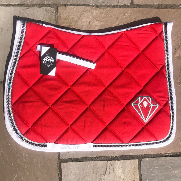 Superbling GP Saddle Pad (Red)