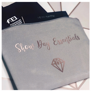 'Show Day Essentials' Pouch