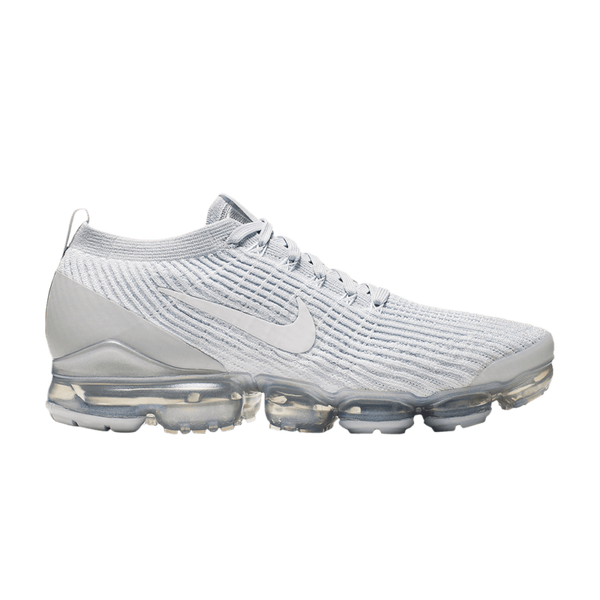 reputable site 78d34 4b1c1 Nike Air Vapormax Flyknit 3 Triple White Platinum Men's AJ6900-102 New All  Sizes