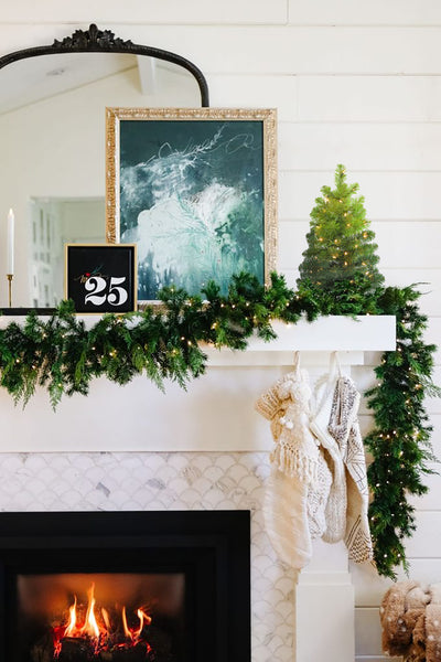 Tiny ombre green Christmas Tree | Artificial Ombre Christmas Tree