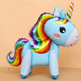 Unicorn Pink Little Horse Pony Helium Balloon For Kids 1 PC 100*97