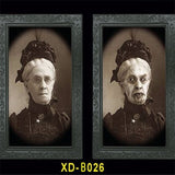 3D Face Changing Ghost Frame For Halloween Decoration
