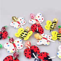 Card Candy Lollipop For Kids Party 50 pcs