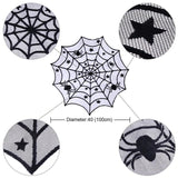 Cobweb Fireplace Scarf Halloween Spider Web Mantle Hanging Ghost