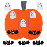 Pumpkin Light Hanging Ghost Fireplace Mantle Scarf For Halloween Party