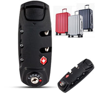 Security 3 Digit Combination Luggage Handbag Safe Box Lock