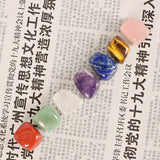 7 Colors Set Yoga Chakra Healing Polished Stones And Crystals