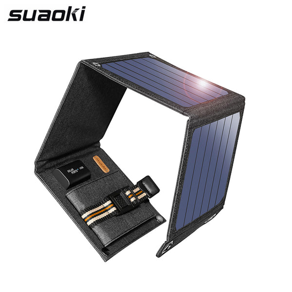 Portable Solar Charger USB Output  for Smartphones Laptop Tablets
