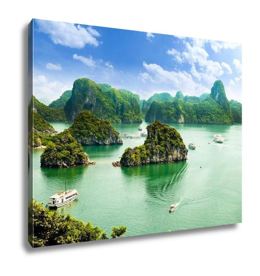 Gallery Wrapped Canvas, Ha Long Bay In Vietnam