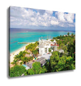Gallery Wrapped Canvas, The Tropical Island Jamaica Montego Bay