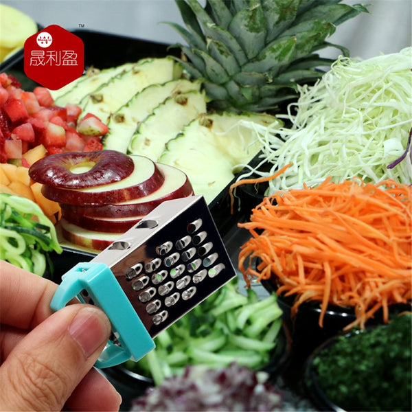 Mini Four Sided stainless steel Grater