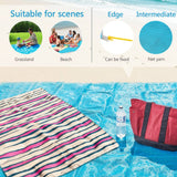Magic Waterproof Foldable Sandless Beach Mat