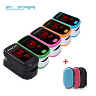LED Fingertip Pulse Oximeter With Case