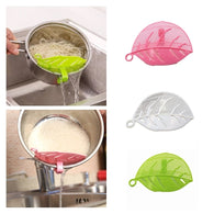 Leaf shape Durable Sieve Rice Wash Cleaner