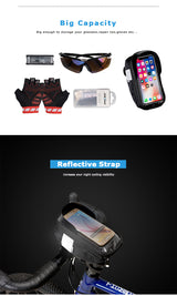 Handlebar Cell Phone Bag Case Holder For Bicycle