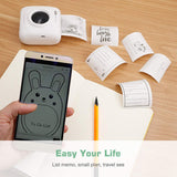 Portable Bluetooth Wireless Mini Pocket Printers For iOS Android Windows