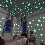 Glow in Dark Luminous Star Wall Stickers