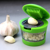 Stainless Steel Mini Portable Ginger Garlic crusher shredder