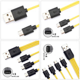 Micro USB Charging Cable For USB Rechargeable Batteries