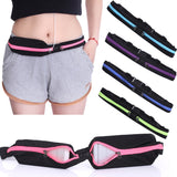 Running Belt Pocket Foil Waterproof Expandable Pocket Zipper