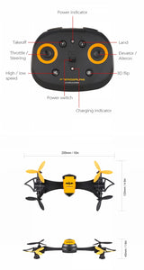 BAT DRONE WiFi FPV Camera With Wearable Wrist Watch Hold