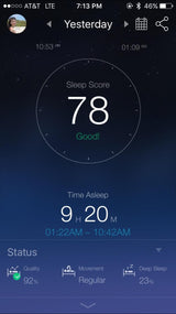 Intelligent APP Remote Control for Andriod & IOS, Zero Radiation Sleep Monitor