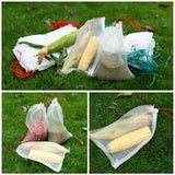 Fruit Vegetable Food Storage reusable mesh bags